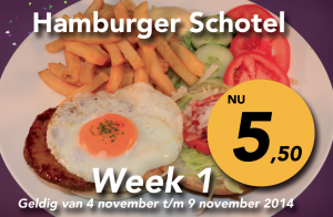 Hamburgerschotel week 1